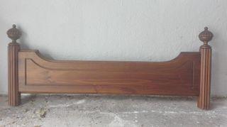 Cabecero de madera alta calidad