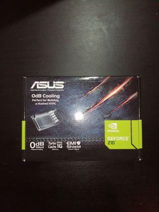 Asus GeForce 210 Silent DDR3 PCIe HDMI NUEVA