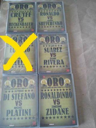 Colección DVD'S duelos de Oro Marca