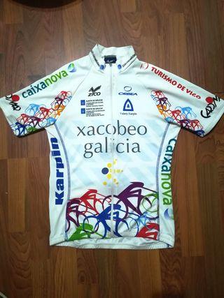maillot pro Xacobeo Galicia Vuelta España 2008