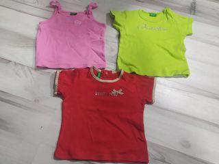 Camisetas bebe 0-3 meses Benetton