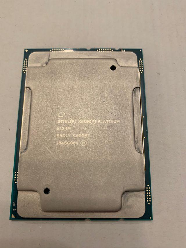 Procesador intel Xeon Platinum 8124m LGA-3647