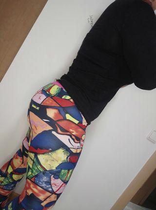 leggins colombianos estampados