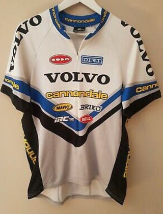Maillot Volvo Cannondale Vintage