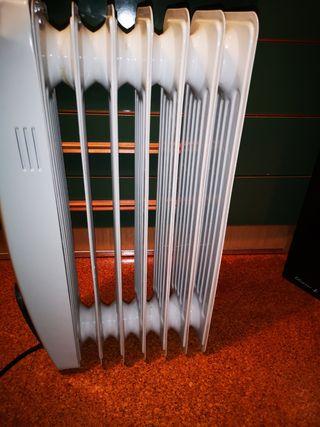 radiador calefactor eléctrico de aceite 2500w
