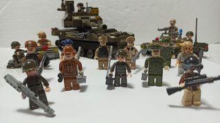 Set militar 100% compatibilidad Lego. NO ES LEGO.