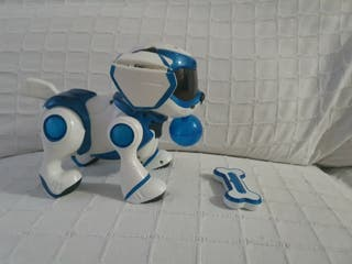 juguete perro robot tesla