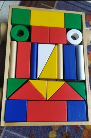 Mula de construcción de bloques Bueno Juguetes,