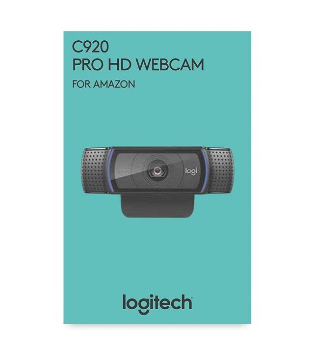 Logitech C920 HD Pro Webcam 1080p Sonido Estéreo