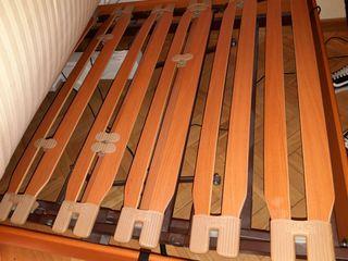 Cama articulada eléctrica flex y colchón Tempur