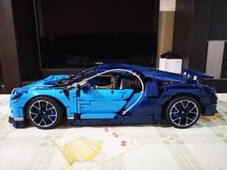 Bugatti Chiron - clon LEGO