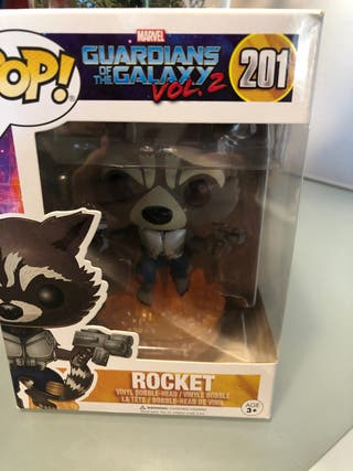 Funko pop. Rocket . Guardians of the galaxy