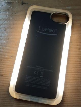 Funda con luz Iphone 7/8/SE2020