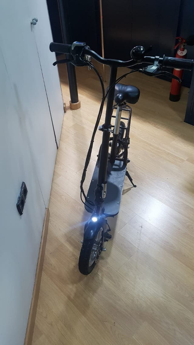 patín eléctrico homologado para circular !!