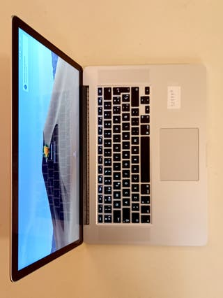 MacBook Pro (Retina, 15 pulgadas, mediados de 2015