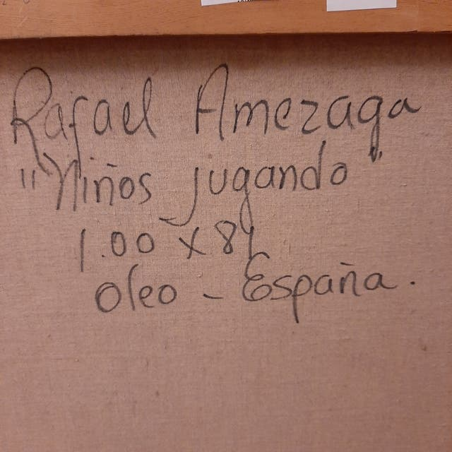 Cuadro de Rafael Amezaga