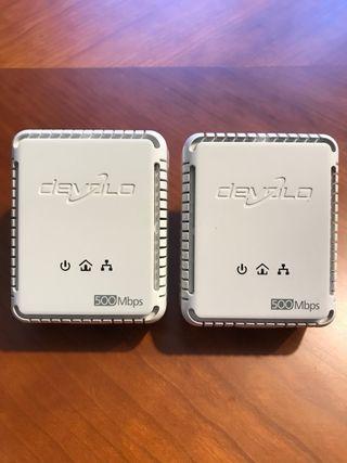Adaptadores PLC DEVOLO 500Mbps