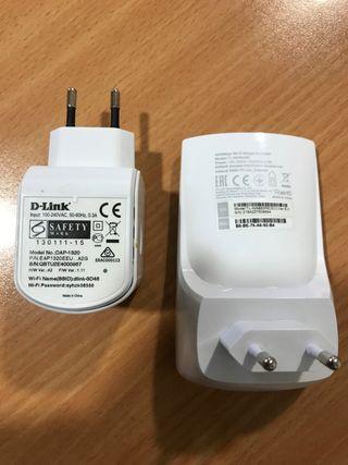 PLC 500Mbps Devolo + 2 repetidores Wifi TP-link