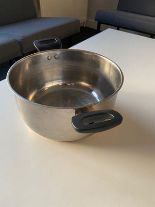 Big casserole or pot