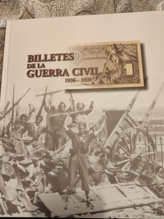Colección billetes guerra española