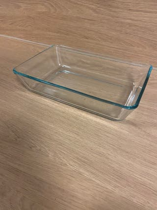 Oven/serving glass dish