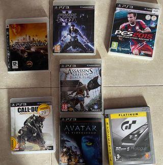 Vendo juegos ps3 y ps4