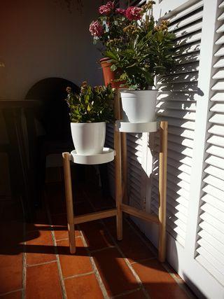 soporte para plantas