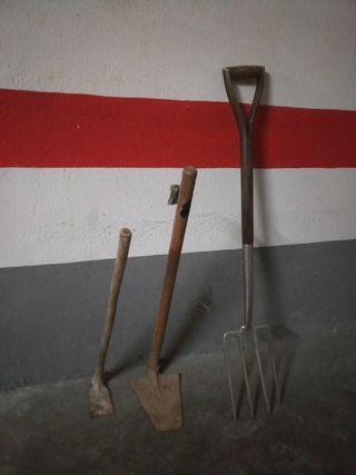 herramientas para huerto