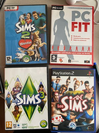 Videojuegos Los Sims (Pc/Play)