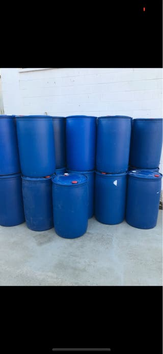 Bidones plástico 200 litros