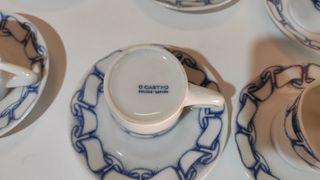 PVP 280€ - Juego de café Sargadelos 12 servicios