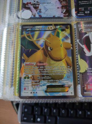 carta Pokemon dragonite ex