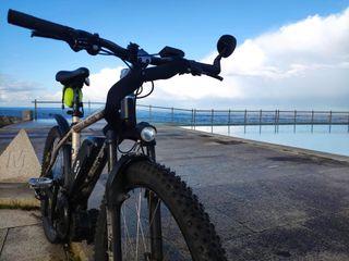 Bicicleta Eléctrica con motor central