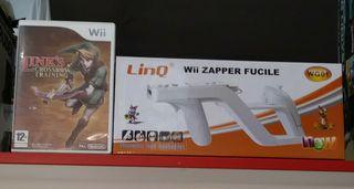 Wii Zapper + Link's Crossbow Training