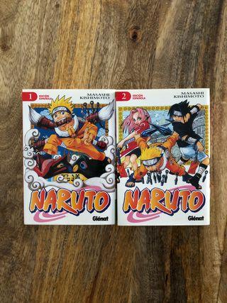 Manga Naruto Tomos 1 y 2