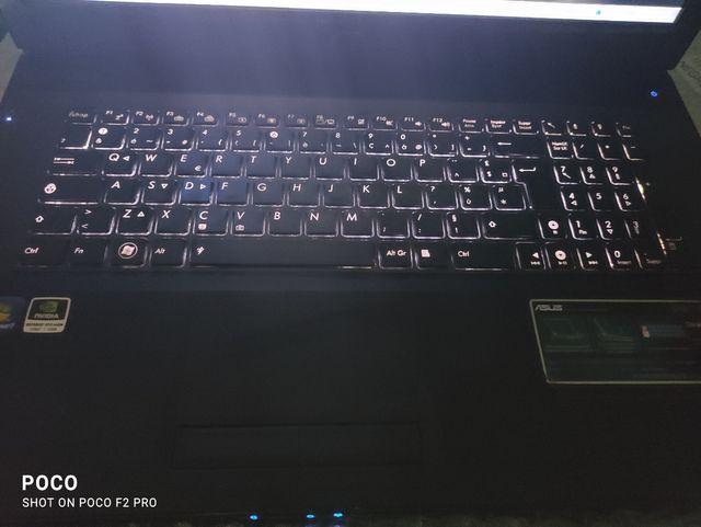 PC ASUS GAMER core i7 G73S SERIES 17pulgadas