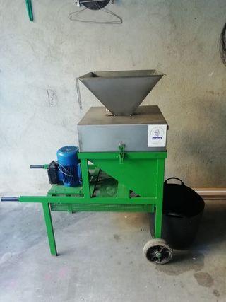 prensa de aceite y trituradora