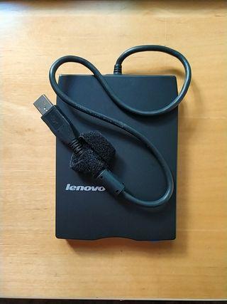 Unidad de disquete portátil USB LENOVO