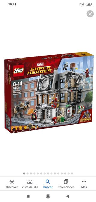 Lego Infinity War