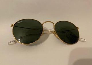 Gafas de sol doradas Ray Ban