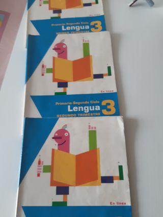 Libros de Lengua Castellana tercero de primaria