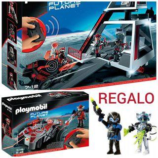 Base espacial y vehiculo PLAYMOBIL
