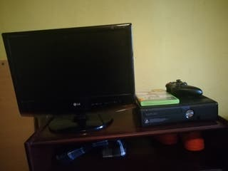 tele LG + Xbox 360 con fifa 15