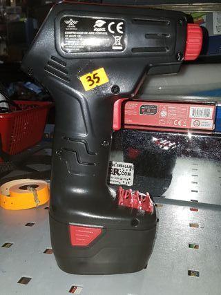 Compresor de aire portátil para inflado Ruedas