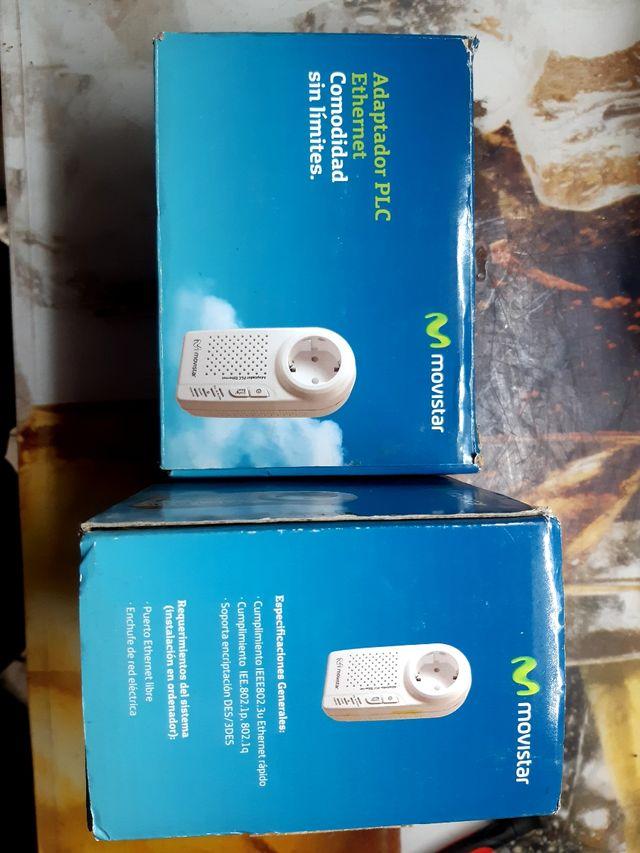 2 Adaptadores PLC Ethernet