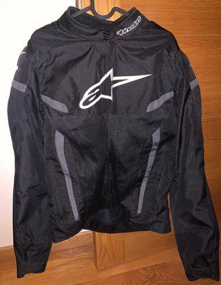 Chaqueta moto Alpinestars negra talla XL