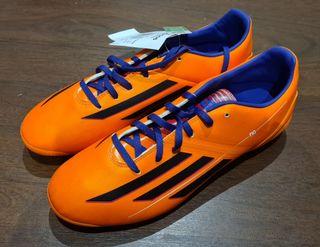 botas adidas F10 TRX AG naranjas
