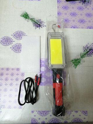 Linterna LED portátil taller nueva