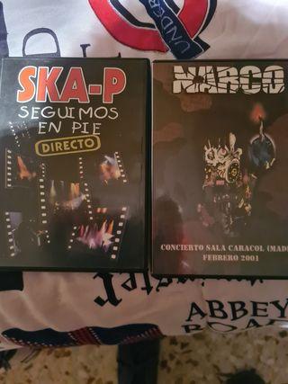 2 DVD...1 de narco y otro skap