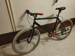 Bicicleta hibrida 6 marchas